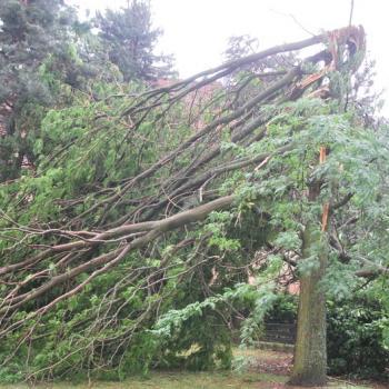 Tornade (?) à Gerardmer, vent violent et chutes de grêle dans le Nord-est samedi soir